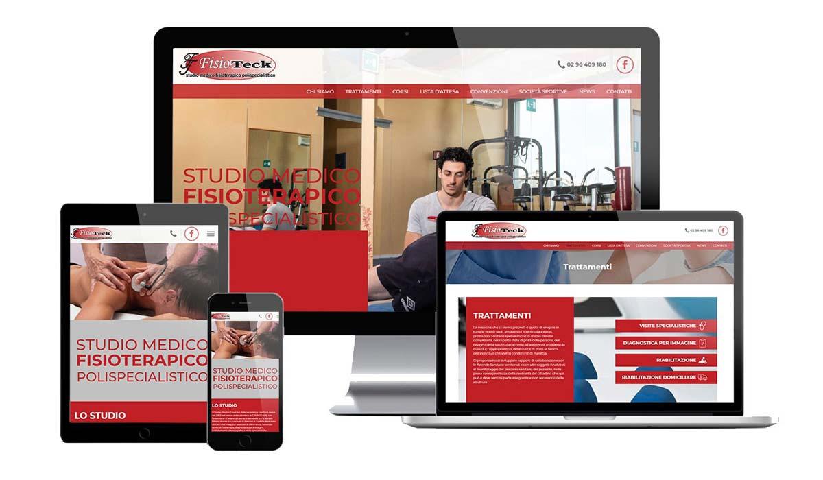 Realizzazione sito web fisioterapista