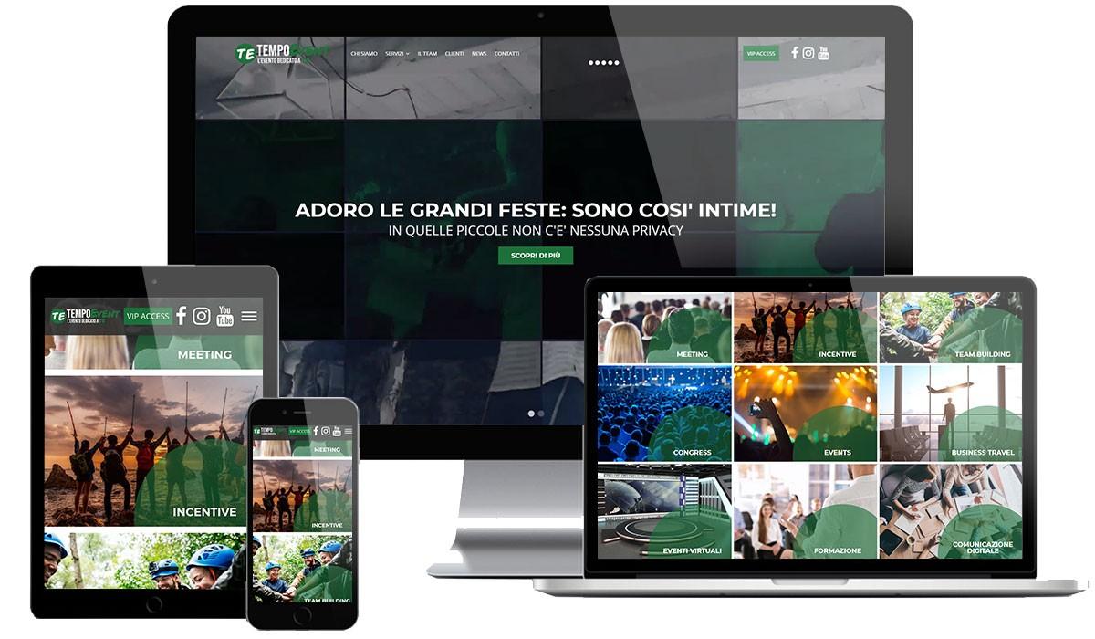 Sito web Agenzia di Eventi