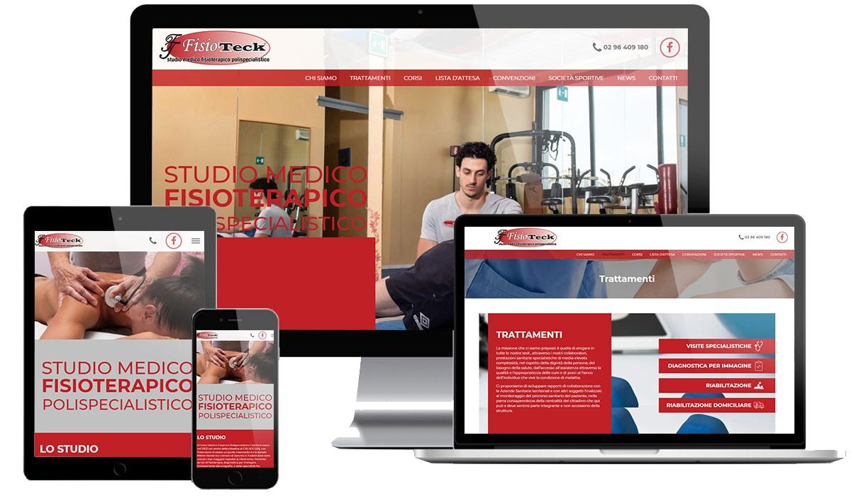 Sito Web Centro Fisioterapia