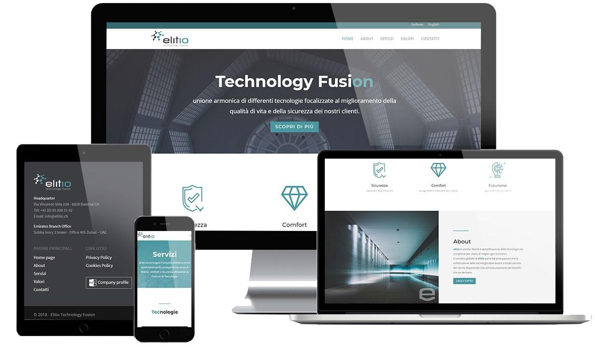 Sito web Sicurezza & Building Automation