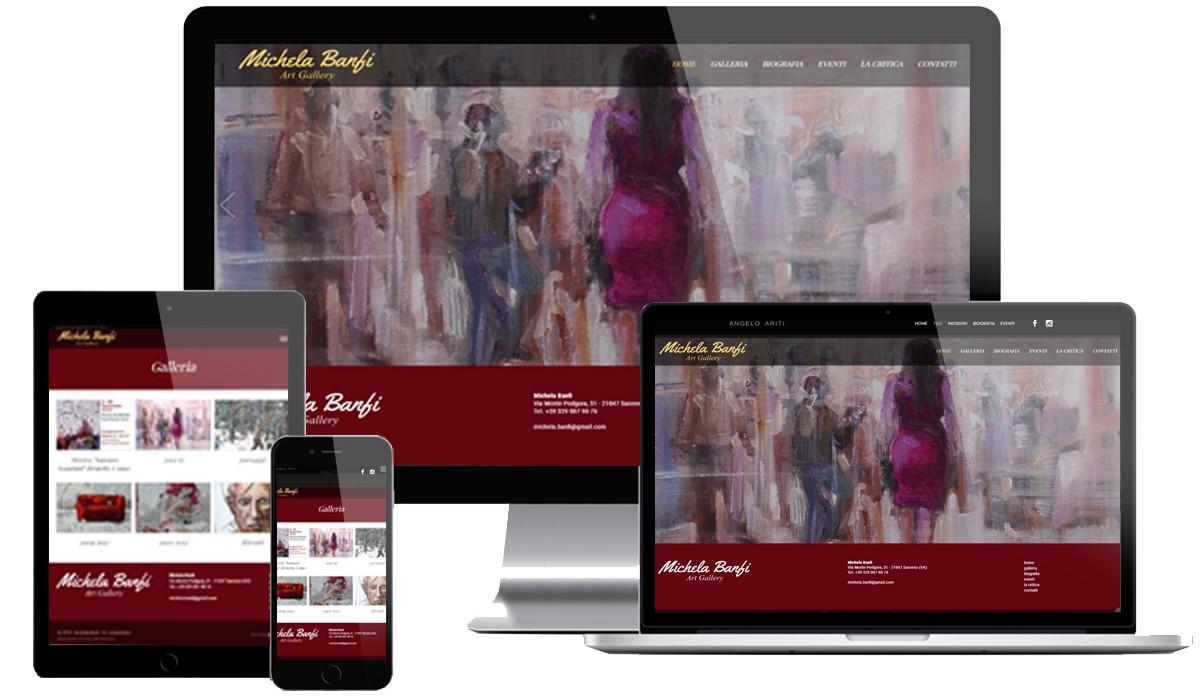 Sito web Pittrice